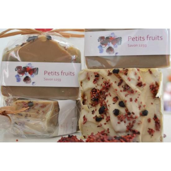 Savon Petits fruits (framboise, bleuet, mûre)  (125 g)