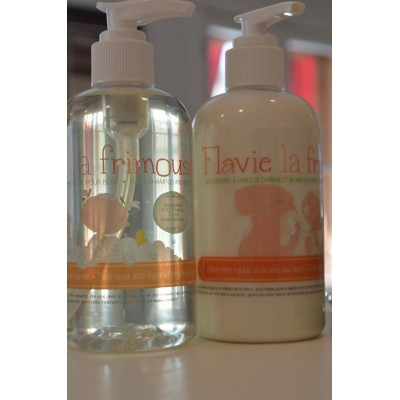 Duo shampooing corps-cheveux et lait corporel (Mandarine-Jasmin) (250 ml)