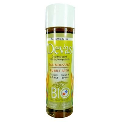 Bain moussant- Tilleul et orchidée (250 ml)