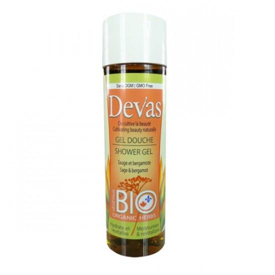 Gel douche- Sauge  bergamote (250 ml)
