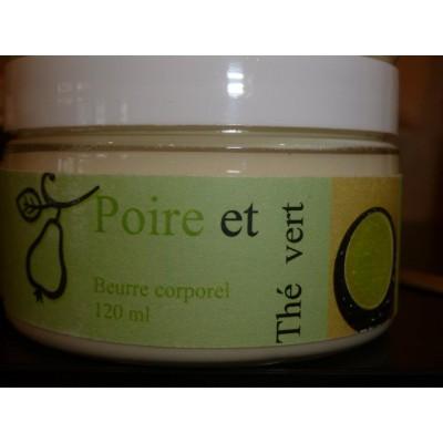 Beurre corporel - Poire et thé vert  120 ml-240 ml