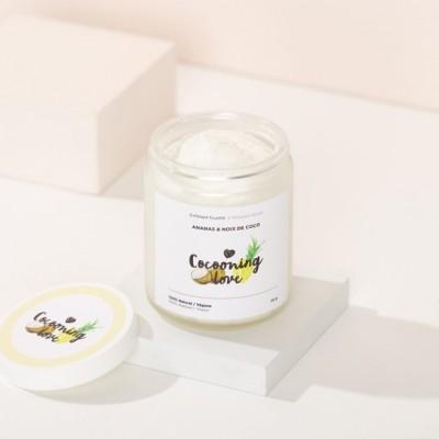 Exfoliant fouetté doux - Ananas et Noix de coco (150g)