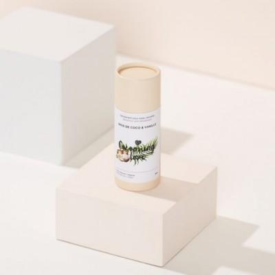 Déodorant végane pour peau sensible - Noix de coco et vanille