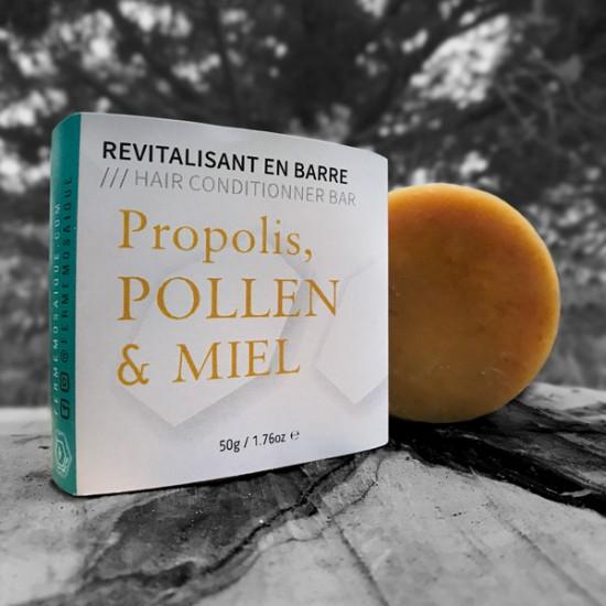Revitalisant en barre Propolis, Pollen et Miel