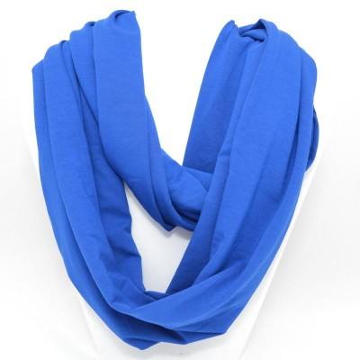 Foulard infini en bambou - Bleu Royal