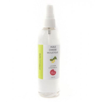 Huile Chasse-Moustique Lavande Citronnelle - 120ml (to be translated)