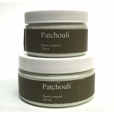 Beurre corporel - Patchouli  120 ml-240 ml