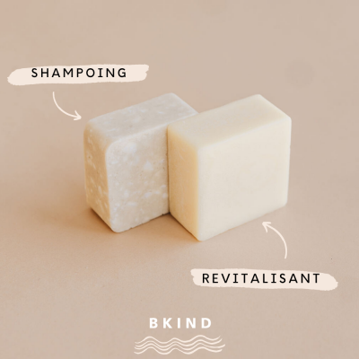 Duo Shampooing/Revitalisant en barre BKind- VRAC