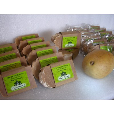Savon Mango Tango (Vanille, Extrait de Mangue)- 142 g