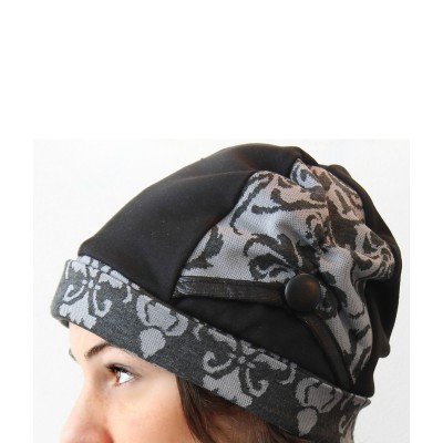 Tuque Betty - Gris Baroque