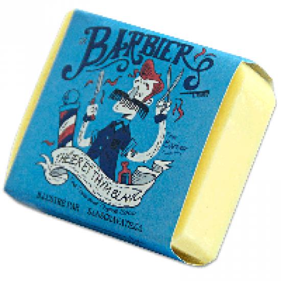 Savon Le Barbier (Théier et thym blanc)- 100 g