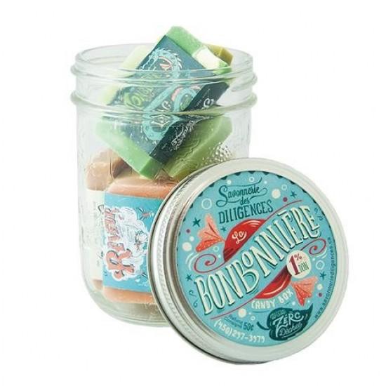 Bonbonnière de mini savons Diligences (225g)