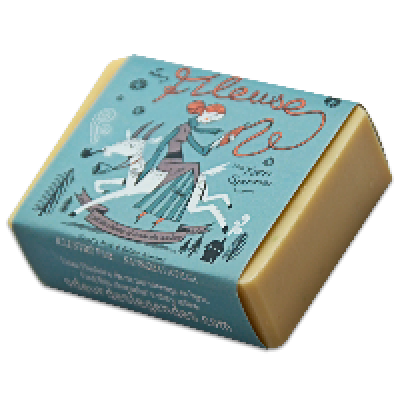 Savon La Fileuse (Lait de chèvre et amande amère)- 100 g