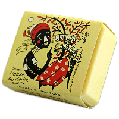 Savon Mama Africa (Nature au beurre de karité)- (100 g)