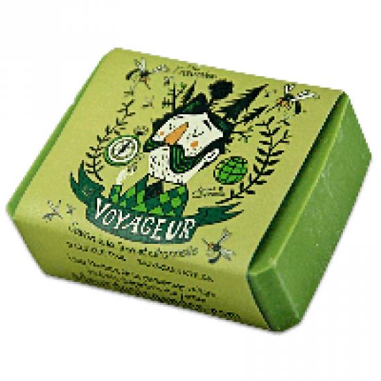 Savon Le Voyageur (Lime et citronnelle)- 100 g