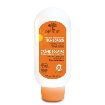 Crème solaire Adulte FPS 30 minérale  (100 ml)