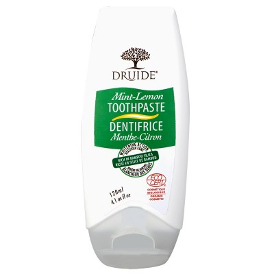 Dentifrice Menthe citron (120 ml)