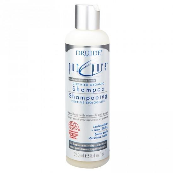 Shampooing pur et pure- à base d'olive et protéines de riz pour personne hyper sensible (250 ml)