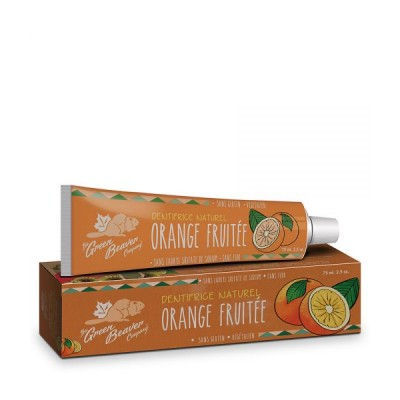 Dentifrice 100% naturel sans fluor | Orange fruitée