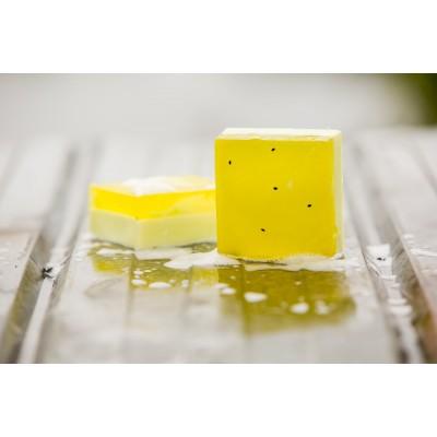 Savon Gourmand Les savons frais- Poire savoureuse (150g)