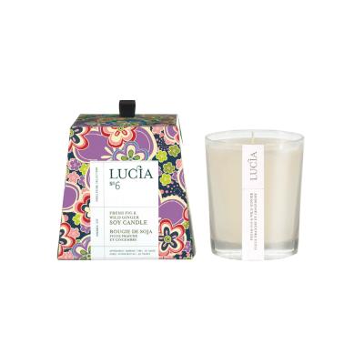 Lucia N°6 Bougie de soja Figue fraîche et gingembre (20h)