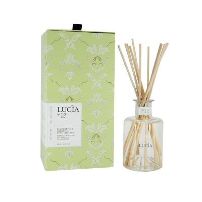 Lucia  N°12 Diffuseur rotang Eucalyptus et gardénia (200ml)