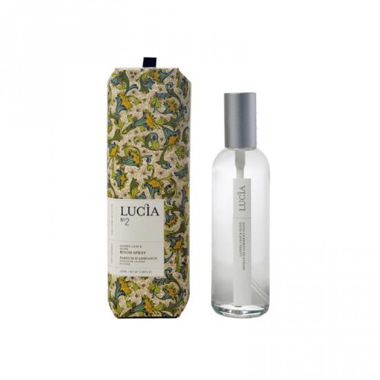 Lucia  N°2 Parfum d'ambiance Feuille de laurier et olive  (100ml)