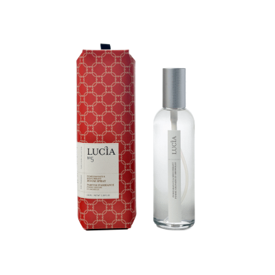 Lucia  N°5 Parfum d'ambiance Pomme grenade et groseille  (100ml)