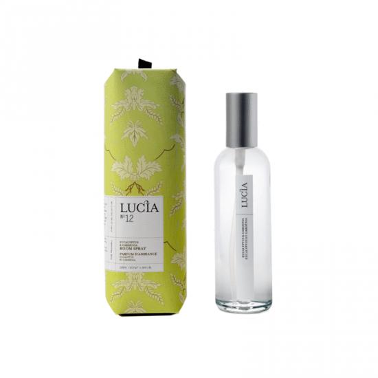 Lucia  N°12 Parfum d'ambiance Eucalptus et gardénia  (100ml)