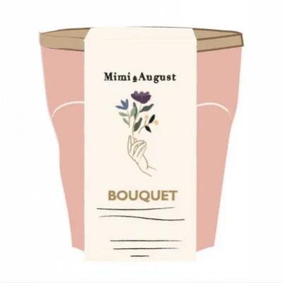 Bougie Mimi et August-Bouquet