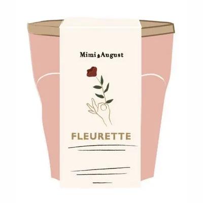 Bougie Mimi et August-Fleurette