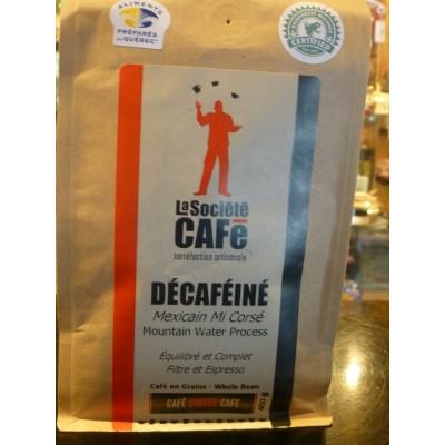 Café Décaféiné- Mexicain Mi corsé