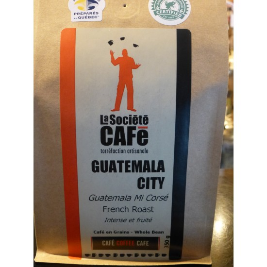 Café Guatemala city (Guatemala Mi corsé)