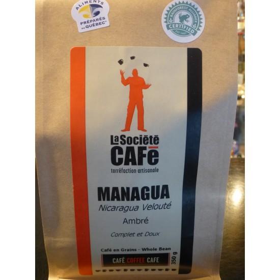 Café- Managua (Nicaragua- Torréfaction ambrée- Velouté)