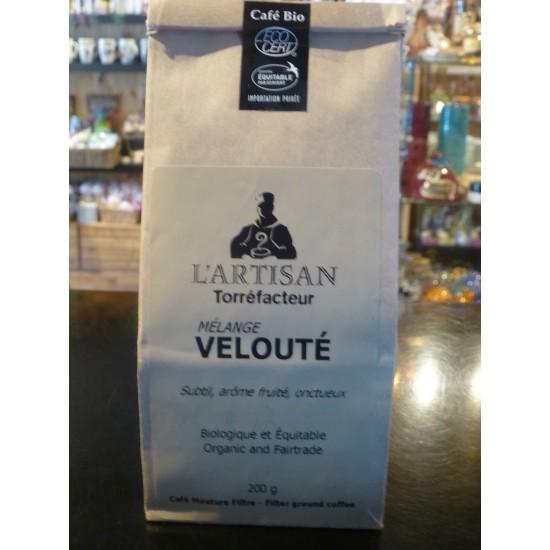 Café bio L'Artisan- Velouté (200 g) Moulu