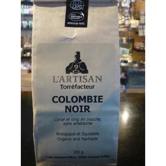 Café bio L'Artisan- Colombien noir (200 g)