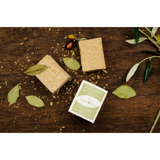 Savon d'alep à l'huile d'olive et 10 % de baie de laurier (200 g)