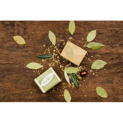 Savon d'alep à l'huile d'olive et 20 % de baie de laurier (200 g)