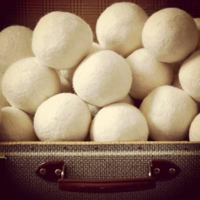 Boules de séchage pure laine (pqt 3)