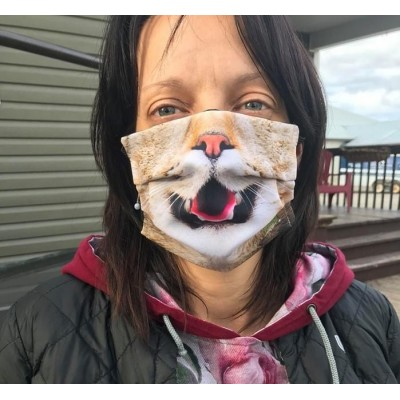 Masque Femme- Chat