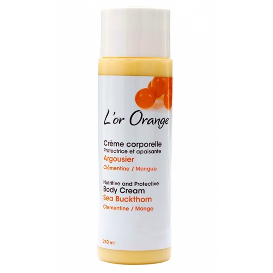 Crème corporelle à l'argousier- L'Or Orange (250 ml)