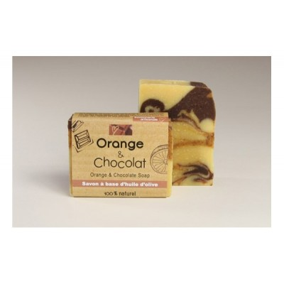Savon Orange & Chocolat  (110 g)