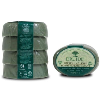 Savon Rafraîchissant, algues et menthe format économique (Paquet de 4 savons)
