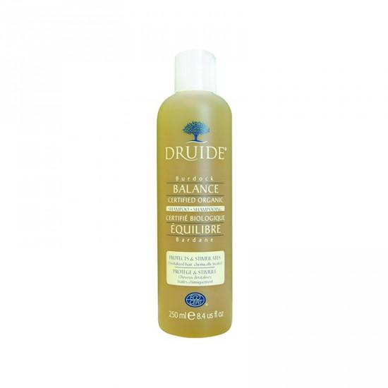 Shampooing équilibre- Bardane, Cheveux dévitalisés, traités chimiquement (250 ml)